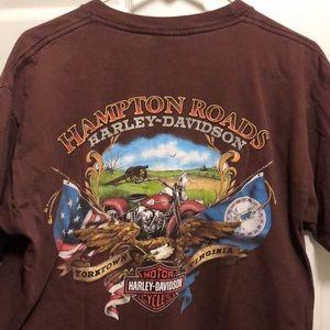 Harley Davidson pocket tee Yorktown
